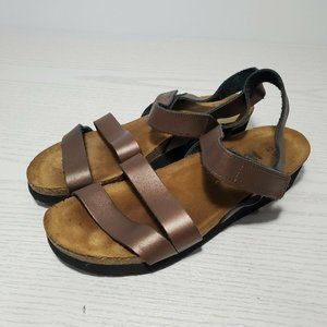 Naot Women's Kayla Backstrap Bronze Sandal